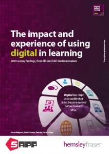 Cover for 2019 report 'Digital in Learning'